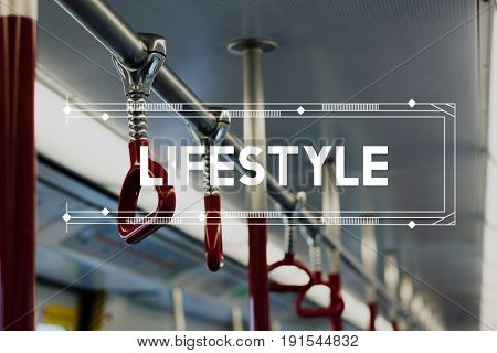 Urban Living City Lifestyle Daily Routine Word