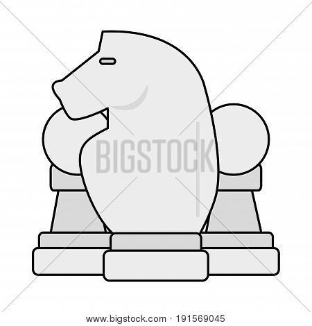 chess pieces icon image vector illustration design