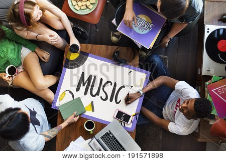 Music Pop Jazz Hiphop Melody