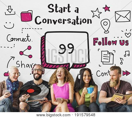 Communication Stay Connected Community Concept