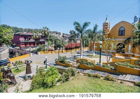Colonial Church Iglesia la Ermita in Barranco Lima Peru