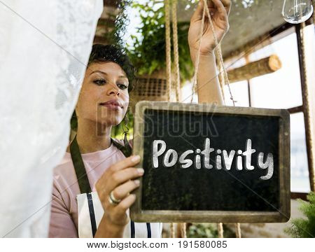 Positivity Freedom Break Time Word