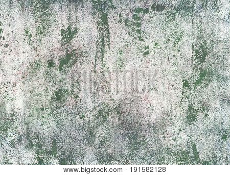 Hand-drawn abstract watercolor background. Used colors: Platinum Feldgrau Axolotl Chinese silver Bright gray Christmas silver Quick Silver Gray Gainsboro Ash grey