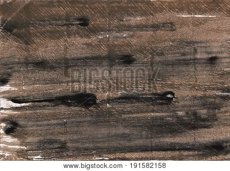 Hand-drawn abstract watercolor background. Used colors: Umber Dark liver Dark lava Shadow Pastel brown Wenge Beaver Mud Deep Taupe Black olive Old burgundy