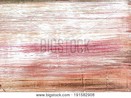 Hand-drawn abstract watercolor background. Used colors: White Snow New York pink Antique brass Tumbleweed Pastel pink Baby powder Pale chestnut Lavender blush