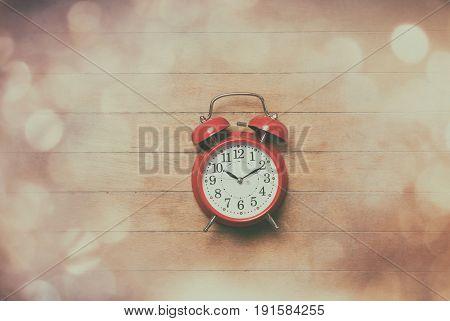 Retro Alarm Clock With Bells