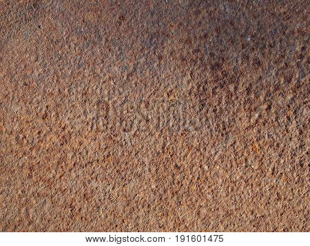 Photo of rusty textured old metal background