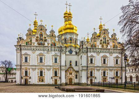 Christian church in Kiev Pechersk Lavra Monastery, Ukraine