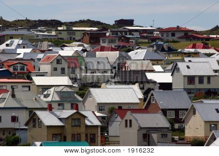 The Rooftops Of Heimaey