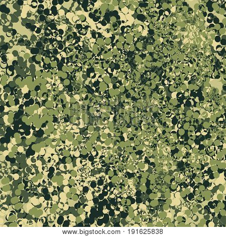 Military Camouflage Seamless Pattern. Abstract Chaotic Geometric Pattern
