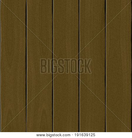 Seamless smooth brown planks planked wooden background