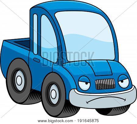 Mad Cartoon Pickup Truck