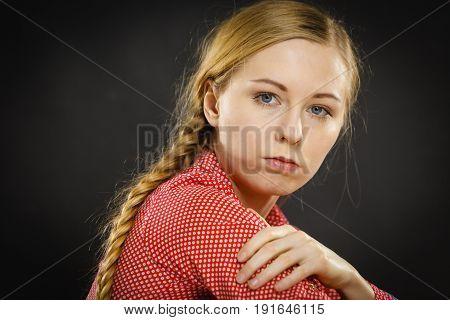 Sad Depressed Girl