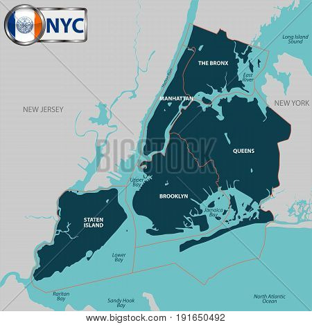 Boroughs Of New York City