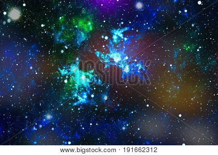 Starry outer space background texture . Colorful Starry Night Sky Outer Space background