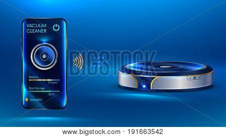 Smart Vacuum Cleaner Iot