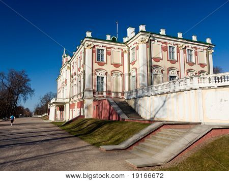 The Kadriorg Palace was built by Tsar Peter the Great in the 18th Century poster