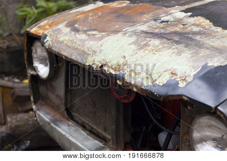 Rusty Old Car Photography, Vintage Retro Automotive