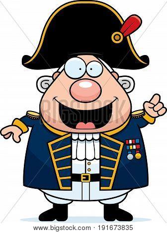 Cartoon British Admiral Idea