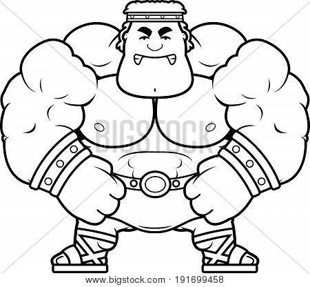 Angry Cartoon Hercules