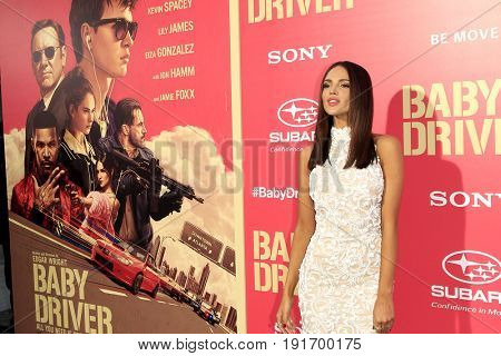 LOS ANGELES - JUN 14:  Eiza Gonzalez at the