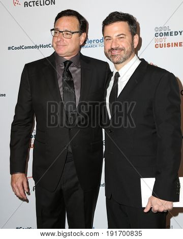 LOS ANGELES - JUN 16:  Bob Saget, Jimmy Kimmel at the 30th Annual Scleroderma Benefit at the Beverly Wilshire Hotel on June 16, 2017 in Beverly Hills, CA