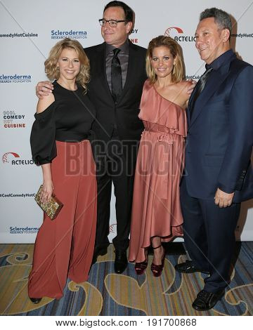 LOS ANGELES - JUN 16:  Jodie Sweetin, Bob Saget, Candace Cameron Bure, Jeff Franklin at the 30th Annual Scleroderma Benefit at the Beverly Wilshire Hotel on June 16, 2017 in Beverly Hills, CA