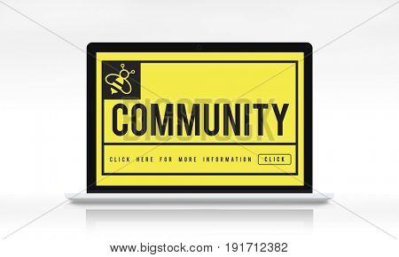 Community Communication Connection Internet Concept