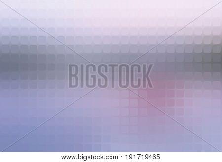 Pale Pink Grey Blue Mosaic Background