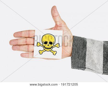 Dangerous goods hazard marking sign