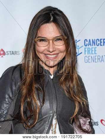 LOS ANGELES - JUN 03:  Vanessa Marcil arrives for the Ante Up of Cancer on June 3, 2017 in Beverly Hills, CA