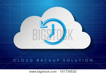 Cloud Backup Solution Concept