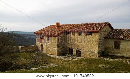 House in the old city of Chufut-Kale
