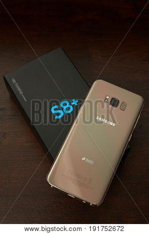 Unpacking New Samsung S8+