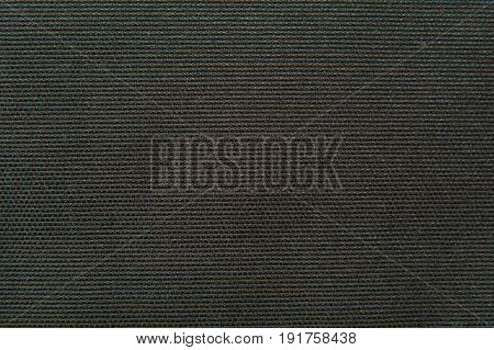 fabric texture black gobelin - for background
