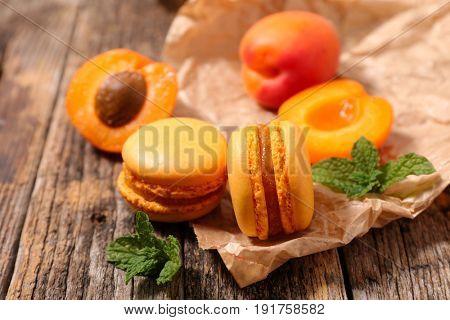 apricot macaroon
