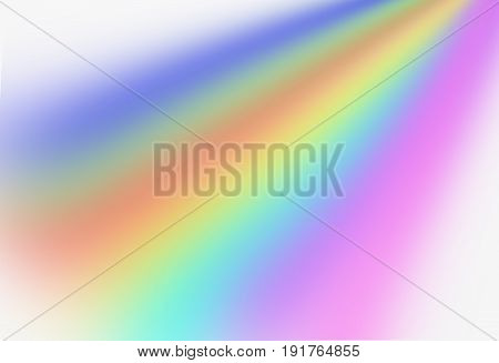 blur beautiful colorful shade rainbow for background