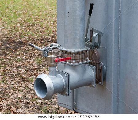 Close Up Water Valve Plumbing