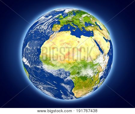 Niger On Planet Earth