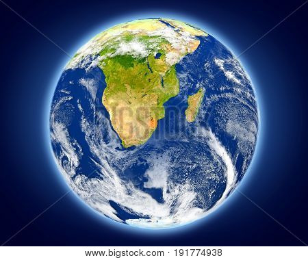 Swaziland On Planet Earth