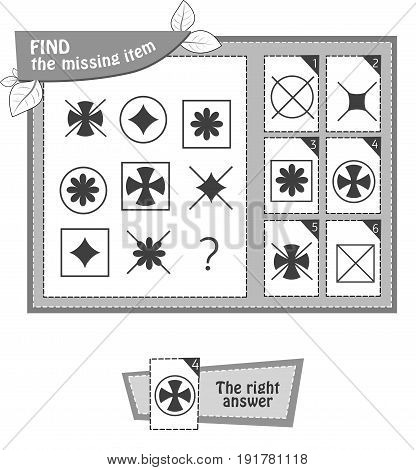 Black Shape Game Star Shape