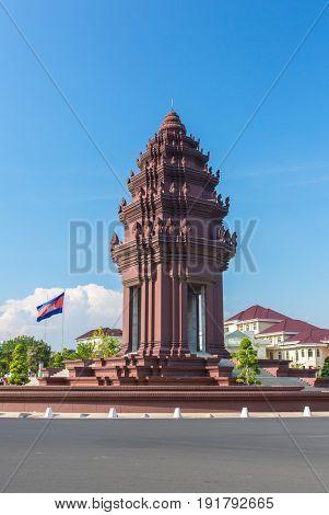 Independence Monument (Vimean Ekareach) in Phnom Penh, Cambodia