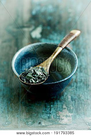 Still life with Sencha Green Tea