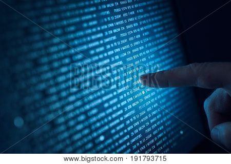 Programming, operating system, hard disk, software, number system.