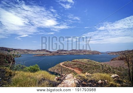Large Freshwater Lake at the Outback -  Western Australia