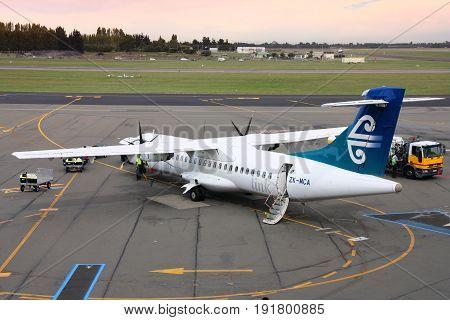 Regional Turboprop Plane