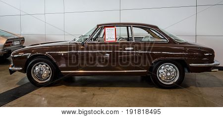 STUTTGART GERMANY - MARCH 03 2017: Executive car Alfa Romeo 2600 Sprint (Tipo 106) 1962. Europe's greatest classic car exhibition