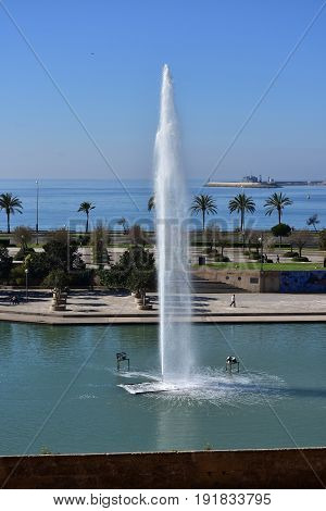Parc de la Mar,Palma de Mallorca,island Majorca,,Spain