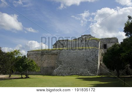 The Nunnery structure at Chichen Itza, Mexico