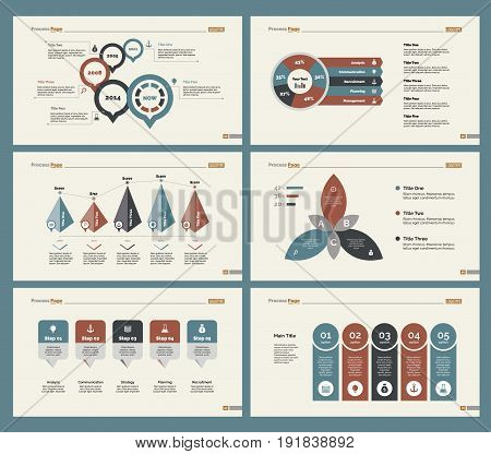 Infographic design set can be used for workflow layout, diagram, annual report, presentation, web design. Business and research concept with process, percentage and timing charts.
